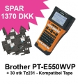 Brother P-Touch PT-E550WVP + 30 stk Tz231 Tape Kompatibel